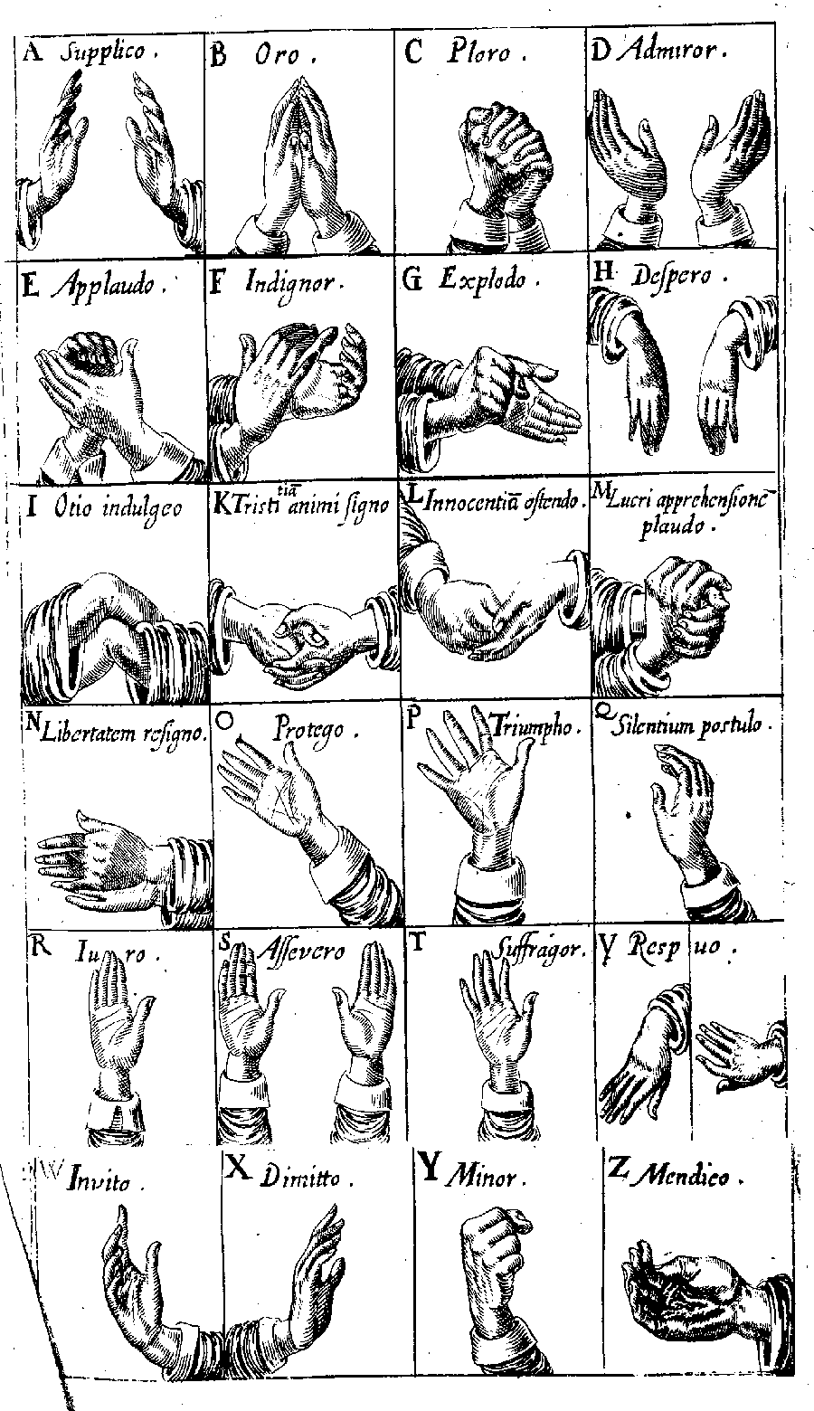 Sexually suggestive hand gestures