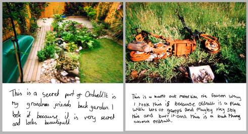 Figure 2: Images from Ordsall A-Z 2000