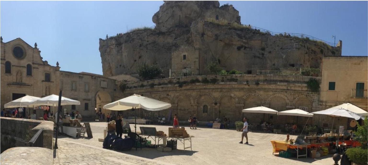 Sassi region of Matera, Italy