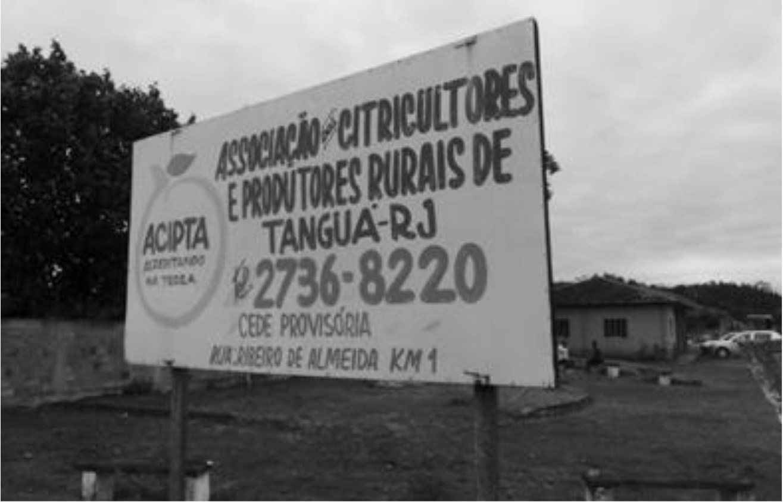A sign for ACIPTA