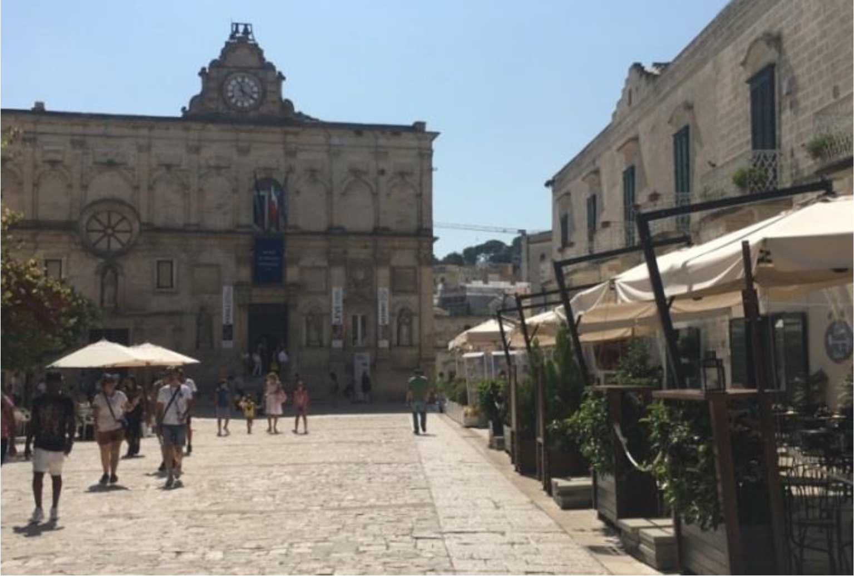 Piano Piazza, Matera, Italy